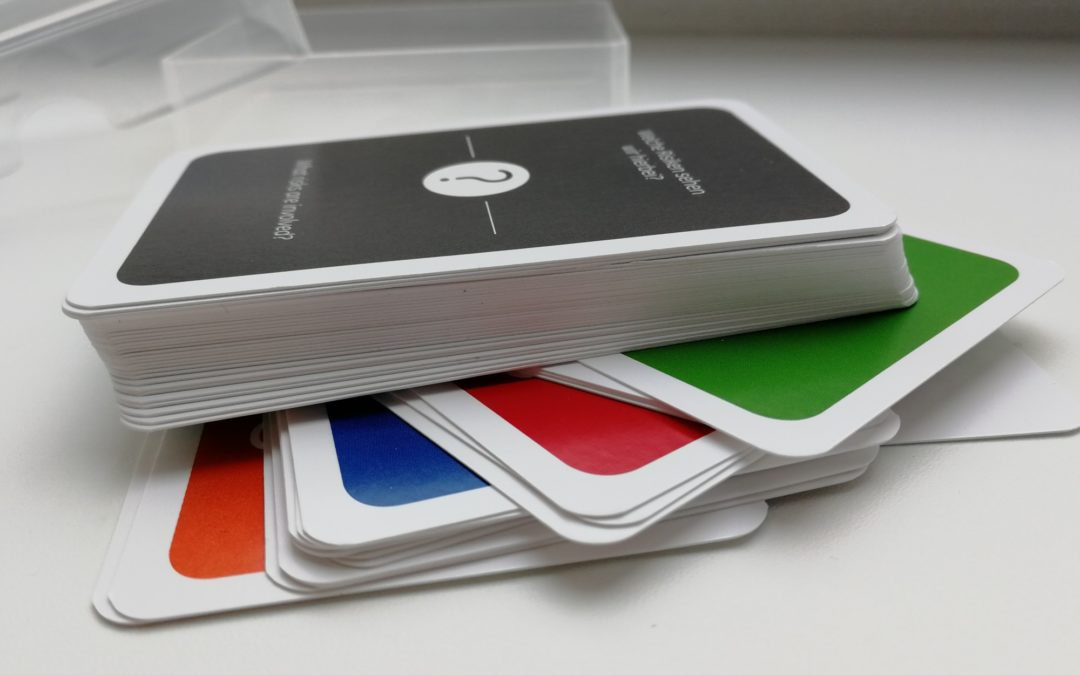 How I had designed a business card game … and failed.