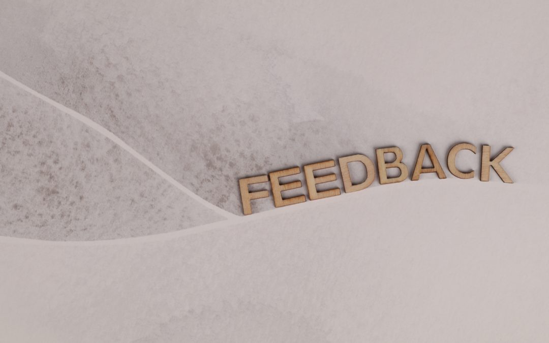 A culture of giving feedback